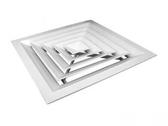 Алюминиевые потолочные решётки 4VA