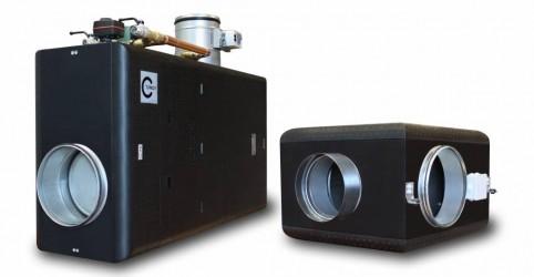 Capsule Pool 300 W система вентиляции и осушения для бассейна с водяным нагревателем