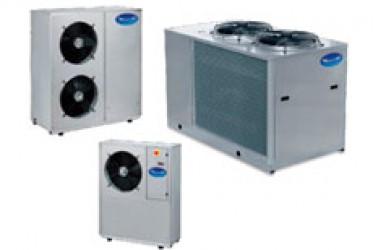 Чиллеры с воздушным охлаждением конденсатора HWR 4-34 S/K/P