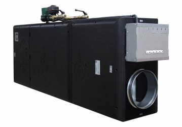 i-vent-500 W приточная установка с высокой фильтрацией воздуха с водяным нагревателем