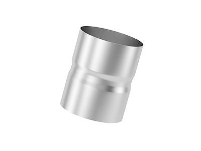 Муфта (соединение мама-мама) нержавеющая матовая 0,8 мм