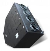Zenit 450 heco E 1,5 кВт вентиляционная приточно-вытяжная установка с рекуперацией тепла и влаги