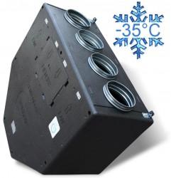 Zenit 550 H heco E 1.5 кВт (высоконапорная) вентиляционная приточно-вытяжная установка с рекуперацией тепла и влаги