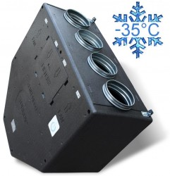 Zenit 550 H heco (высоконапорная) вентиляционная приточно-вытяжная установка с рекуперацией тепла и влаги