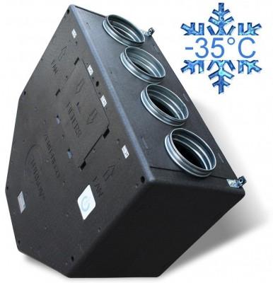 Zenit 550 heco E 3 кВт вентиляционная приточно-вытяжная установка с рекуперацией тепла и влаги