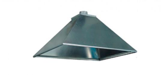 Зонт вытяжной из оцинкованной стали 600*600мм